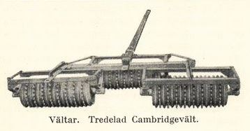 Tredelad Cambridgevält