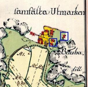 Storskifte år 1778, Lantmäteristyrelesens arkiv.