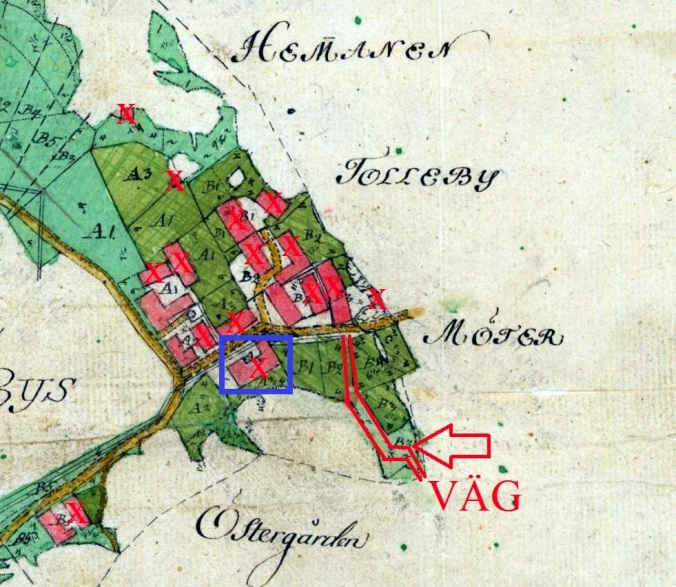 Storskiftet 1797