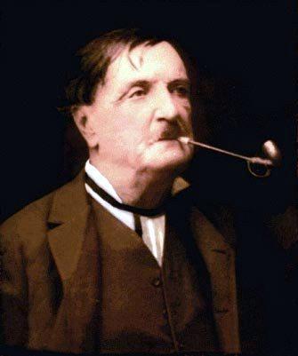 Caesar Mattei. Greve och mustaschbärare.