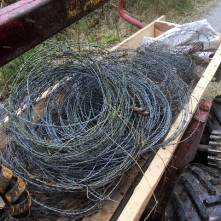 Ett par kilo taggtråd