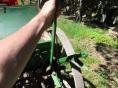 Spaken som höjer och sänker billarna, här är billarna uppfällda